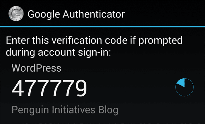 Two-Factor Authentication in WordPress with Google Authenticator