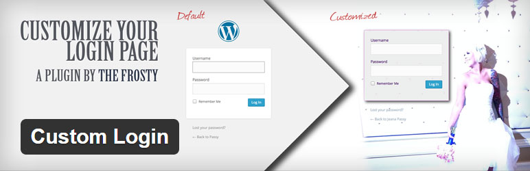 Custom Login Best Free Custom Login WordPress Plugin