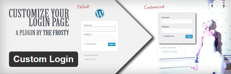Custom Login Best Free Custom Login WordPress Plugin