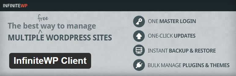 InfiniteWP Client Best Free WordPress Management WordPress Plugin