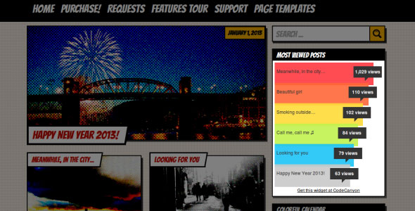 Popular Posts Bar Widget Best Premium Popular Posts WordPress Plugin