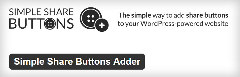 Simple Share Buttons Adder Best Free Social Sharing WordPress Plugin