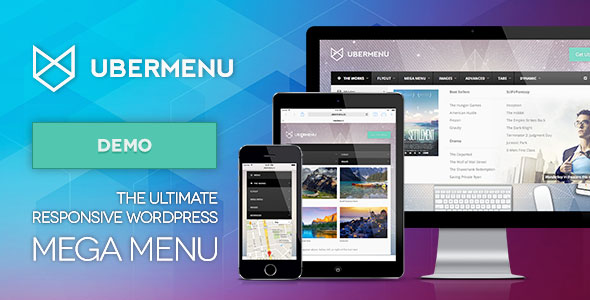 UberMenu - WordPress Mega Menu Plugin Best Premium Navigation Menu WordPress Plugin