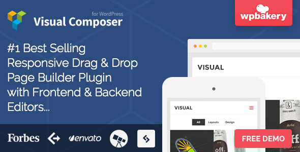 Visual Composer: Page Builder for WordPress Best Premium Visual Builder WordPress Plugin
