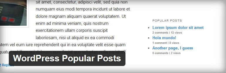 WordPress Popular Posts Best Free Popular Posts WordPress Plugin