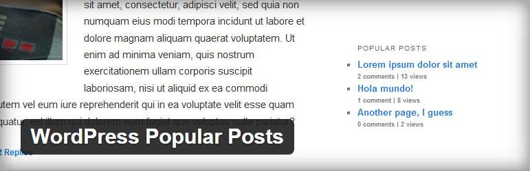 WordPress Popular Posts Best Free Popular Posts WordPress Plugin