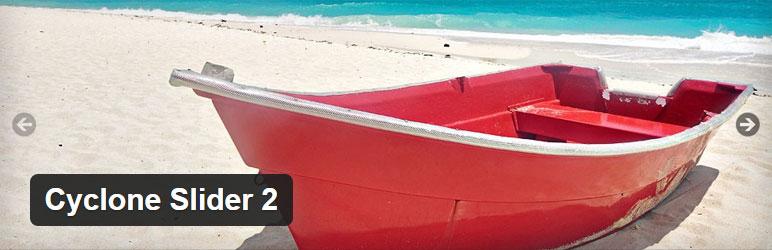 Cyclone Slider 2 Best Free Slider WordPress Plugin