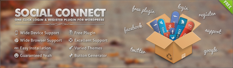 Nextend Social Connect Plugins for WordPress Best Free Social Login / Registration WordPress Plugin