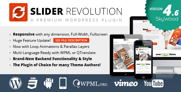 Slider Revolution Best Premium Slider WordPress Plugin