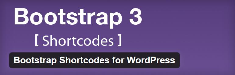 Bootstrap Shortcodes for WordPress Best Free Lightweight Shortcodes WordPress Plugin