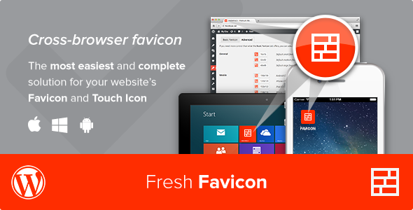 Fresh Favicon Best Premium Favicon Generator WordPress Plugin