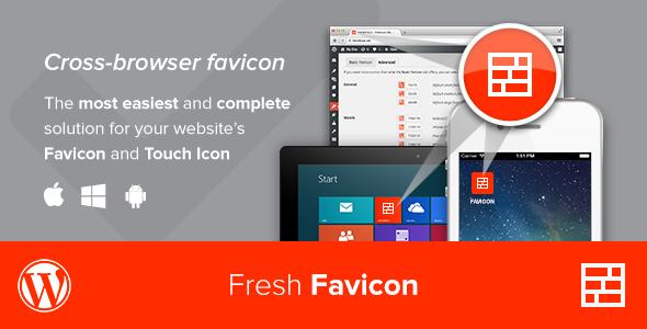 Fresh Favicon Best Premium Favicon Generator WordPress Plugin