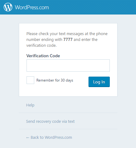 How To Force Two Factor Authentication in WordPress with