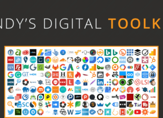 Andy's Toolkit: 211 Digital Marketing Tools